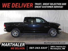 New Chrysler Dodge Jeep Ram 2018 Ram 1500 BIG HORN CREW CAB 4X4 5'7 BOX Crew Cab for sale in Worthington, MN