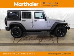 New Chrysler Dodge Jeep Ram 2018 Jeep Wrangler Unlimited WRANGLER JK UNLIMITED WILLYS WHEELER 4X4 Sport Utility for sale in Worthington, MN