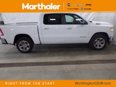 New Chrysler Dodge Jeep Ram 2019 Ram 1500 BIG HORN / LONE STAR CREW CAB 4X4 5'7 BOX Crew Cab for sale in Worthington, MN