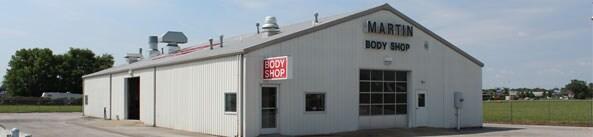 martin body shop
