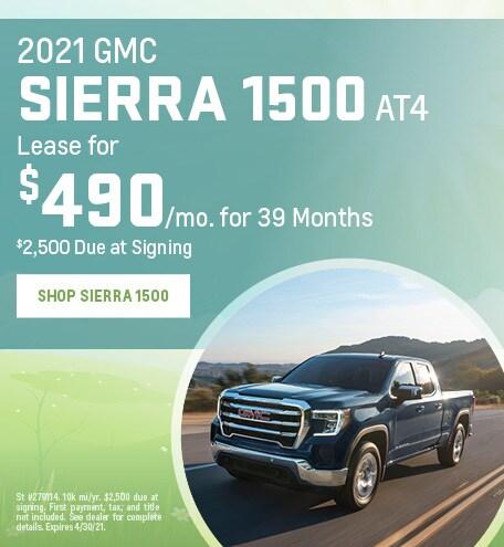 New 2021 GMC Sierra 1500 | Lease