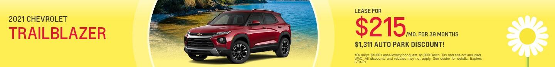 New 2021 Chevrolet Trailblazer | Lease