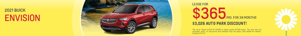 New 2021 Buick Envision | Lease