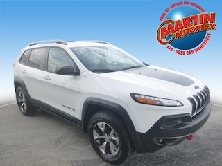 Used 2016 Jeep Cherokee Trailhawk 4x4 SUV Bowling Green, KY