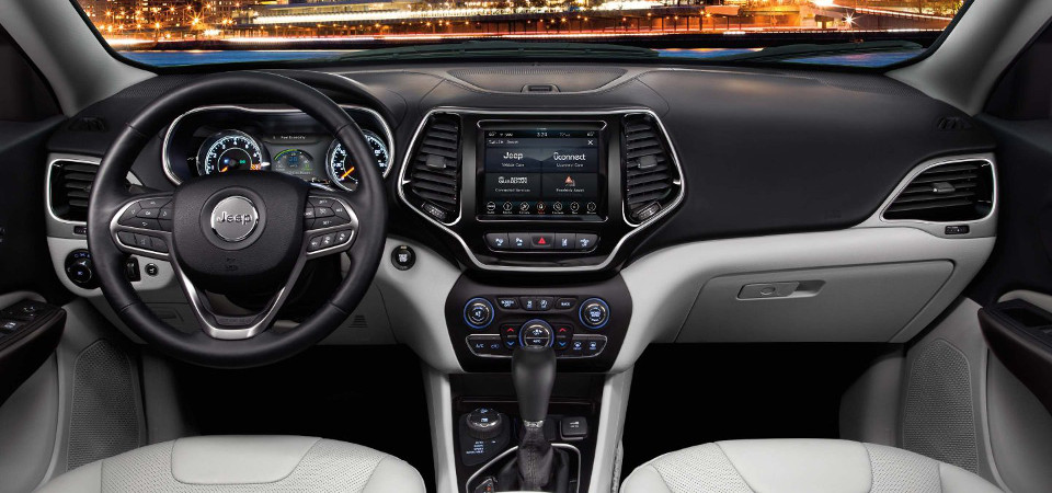 2019 jeep cherokee safety and technology