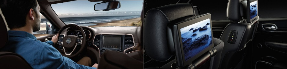 2017 Jeep Grand Cherokee Interior and technology specs in Union Grove, WI