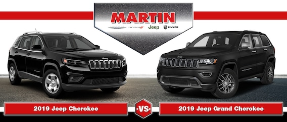 2019 Jeep Cherokee Vs 2019 Jeep Grand Cherokee Union Grove Wi