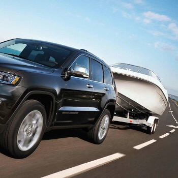Jeep Grand Cherokee Towing Boat