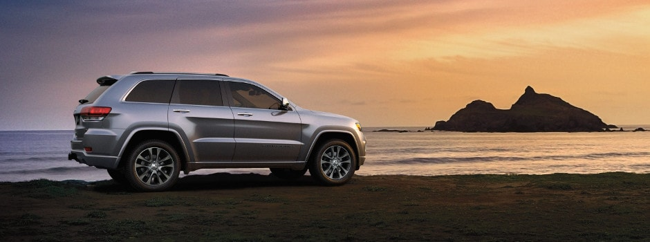 Jeep Grand Cherokee Exterior Profile Beach