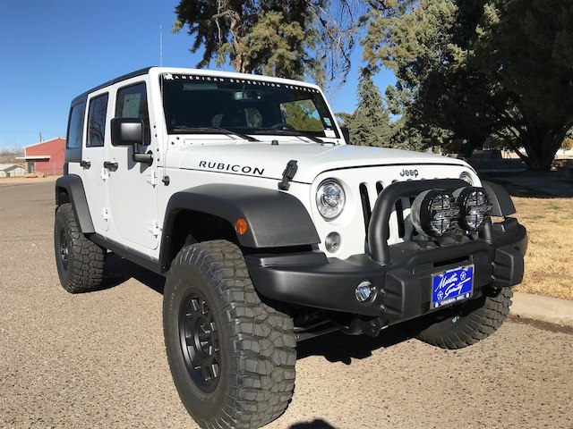 2017 Jeep Wrangler JK Rubicon 4x4 American Expedition Vehicle Sport Utility