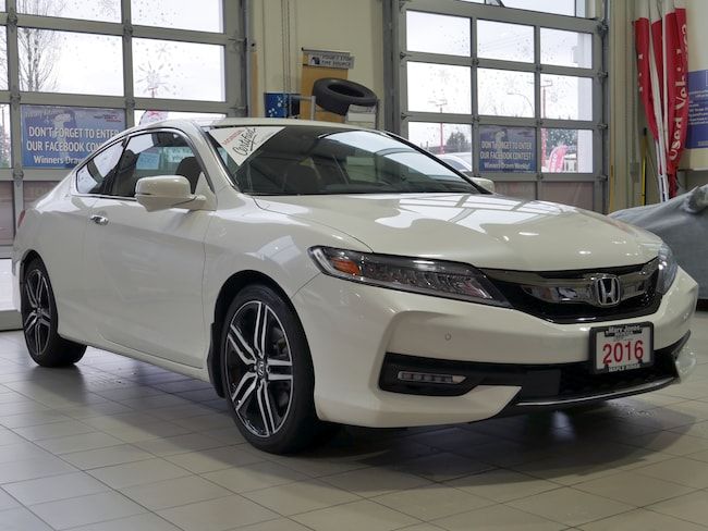 2016 Honda Accord Touring - No Accidents - Remote Start - V6 Coupe