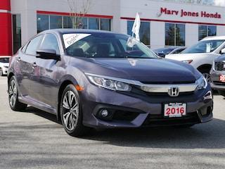 2016 Honda Civic EX-T - No Accidents - One Owner - Local Sedan