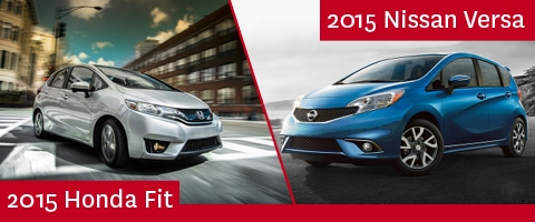 2015 Honda Fit Vs. 2015 Nissan Versa Note