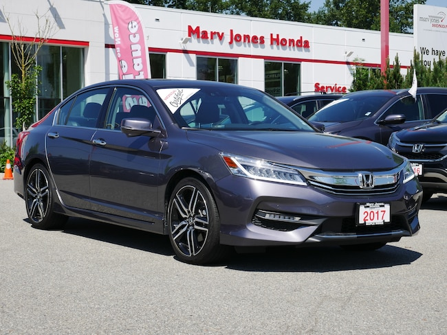2017 Honda Accord Sedan Touring - No Accidents - One Owner - Remote Start Sedan