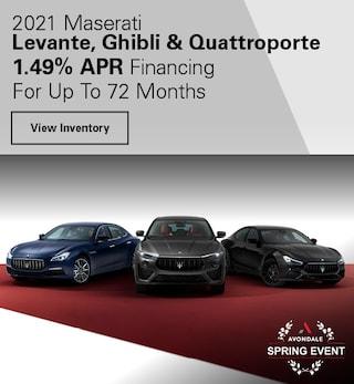 2021 Maserati Levante, Ghibli & Quattroporte