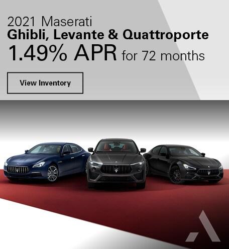 2021 Maserati Ghibli, Levante & Quattroporte