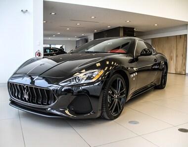 2018 Maserati Granturismo LE TOUT NOUVEAU, SPORT COUPE Coupe Leasing and Financing Avaialble