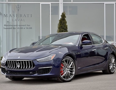 2018 Maserati Ghibli S Q4 GranLusso LOCATION 48 MOIS 0.25% Berline