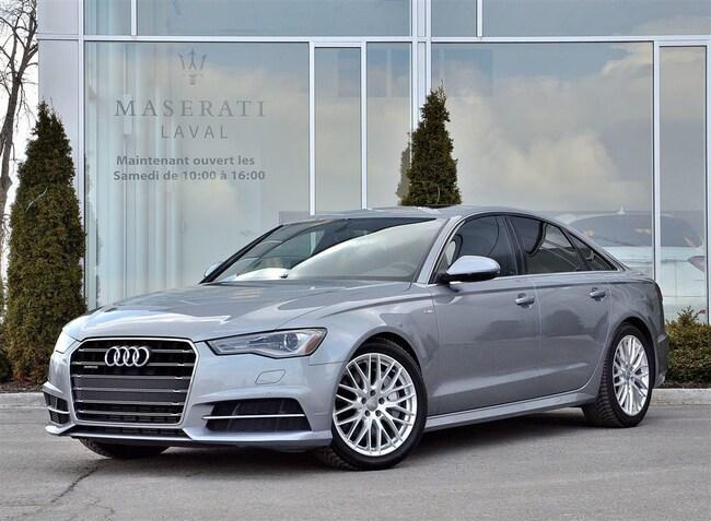 2017 Audi A6 2.0T Progressive S LINE * PNEUS D'HIVER INCLUS Sedan