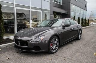 2016 Maserati Ghibli S Q4 (AWD) 1.9% Fin. Vehicule Certifie Sedan