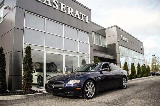 2005 Maserati Quattroporte DUOSELECT Executive Edition 1 Taxe TVQ Seulement Sedan