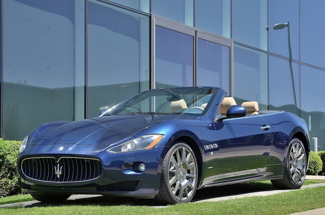 2011 Maserati GRANTURISMO CONVERTIBLE Convertible S PRIX REDUIT Convertible