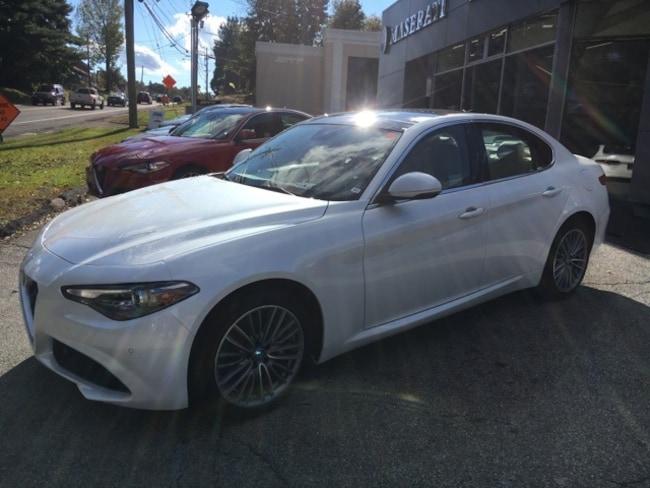 New White 2019 Alfa Romeo Giulia For Sale Lease Or Finance Near Nyc