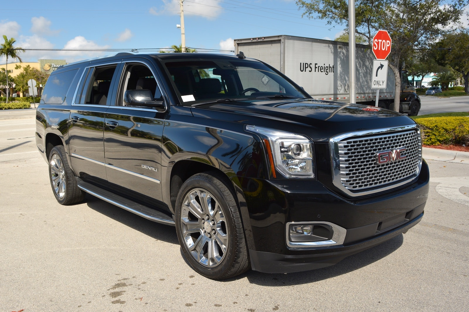 used 2015 gmc yukon xl denali for sale fort lauderdale fl. Black Bedroom Furniture Sets. Home Design Ideas