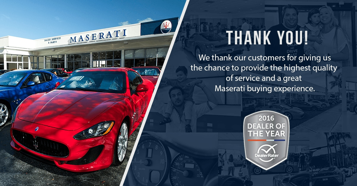 Maserati of Fort Lauderdale Dealer Rating