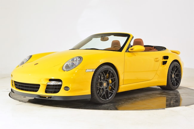2008 PORSCHE 911 TURBO CABRIOLET Convertible for sale in Fort Lauderdale, FL at Ferrari of Fort Lauderdale