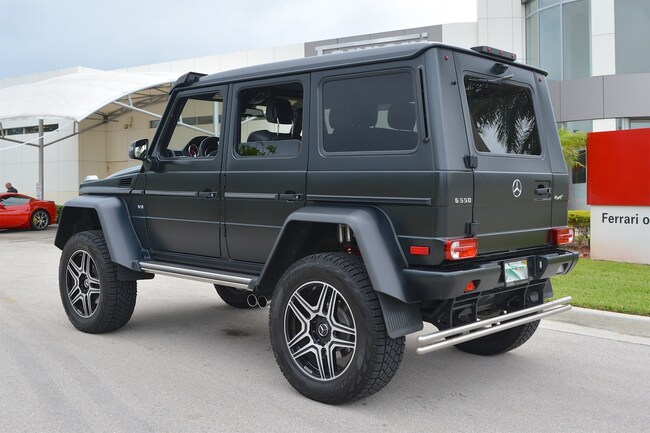 Used 2017 MERCEDES-BENZ G550 4X4 SQUARED For Sale in Fort Lauderdale