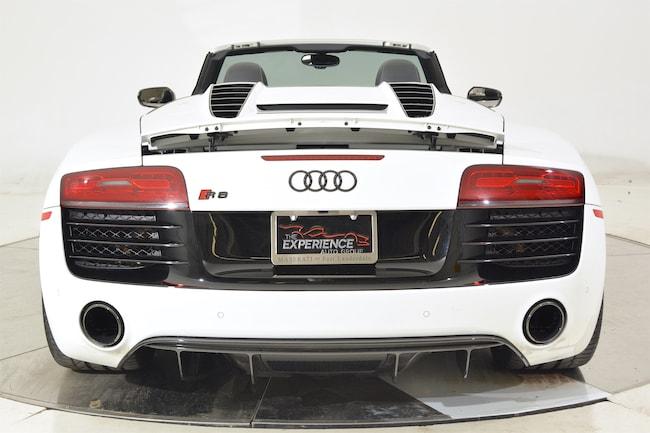 Used 2015 Audi R8 V10 Carbon Spyder For Sale In Fort Lauderdale