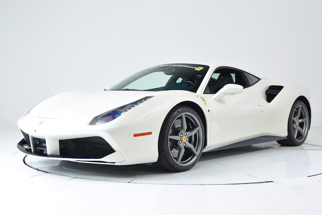2016 FERRARI 488 GTB Coupe for sale in Fort Lauderdale, FL at Maserati of Fort Lauderdale