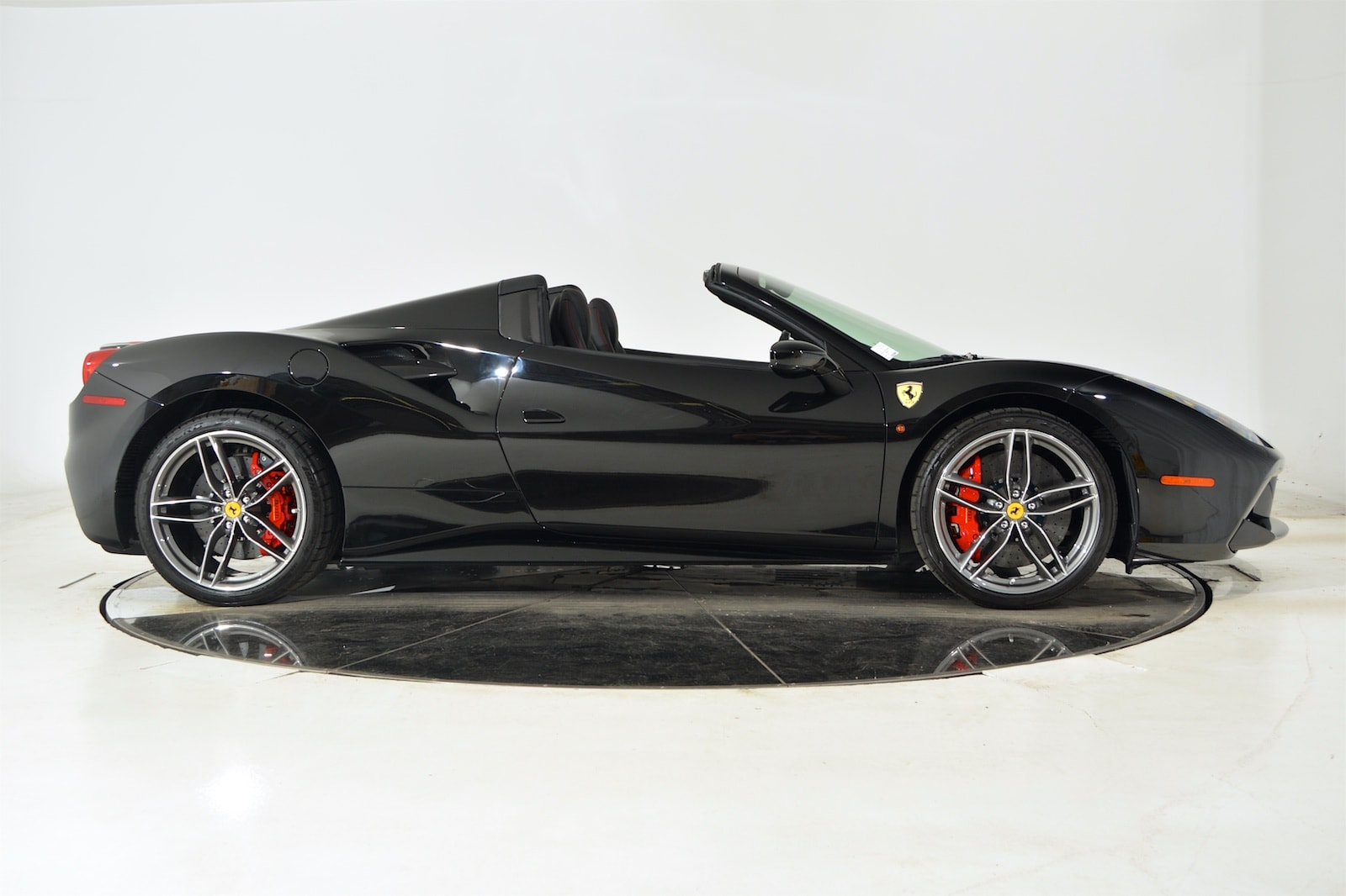 Used 2017 FERRARI 488 SPIDER in Black for Sale | Ferrari ...