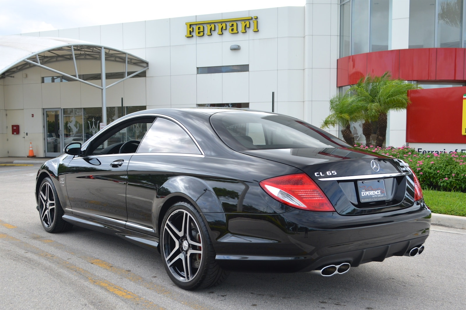 Used 2008 mercedes benz cl65 amg for sale fort lauderdale fl for Mercedes benz cl65 amg coupe