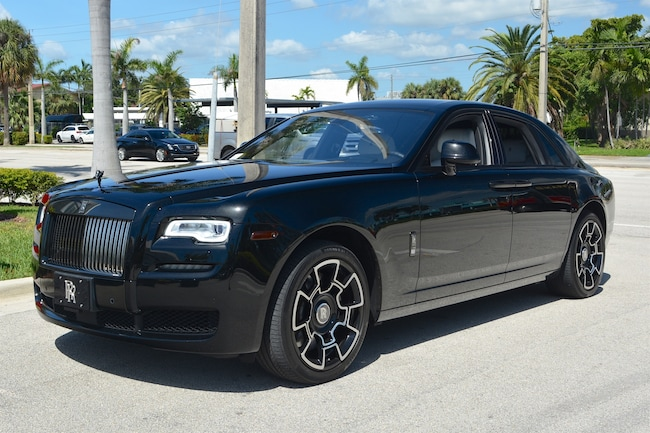 2017 ROLLS-ROYCE GHOST BLACK BADGE Sedan for sale in Fort Lauderdale, FL at Ferrari of Fort Lauderdale