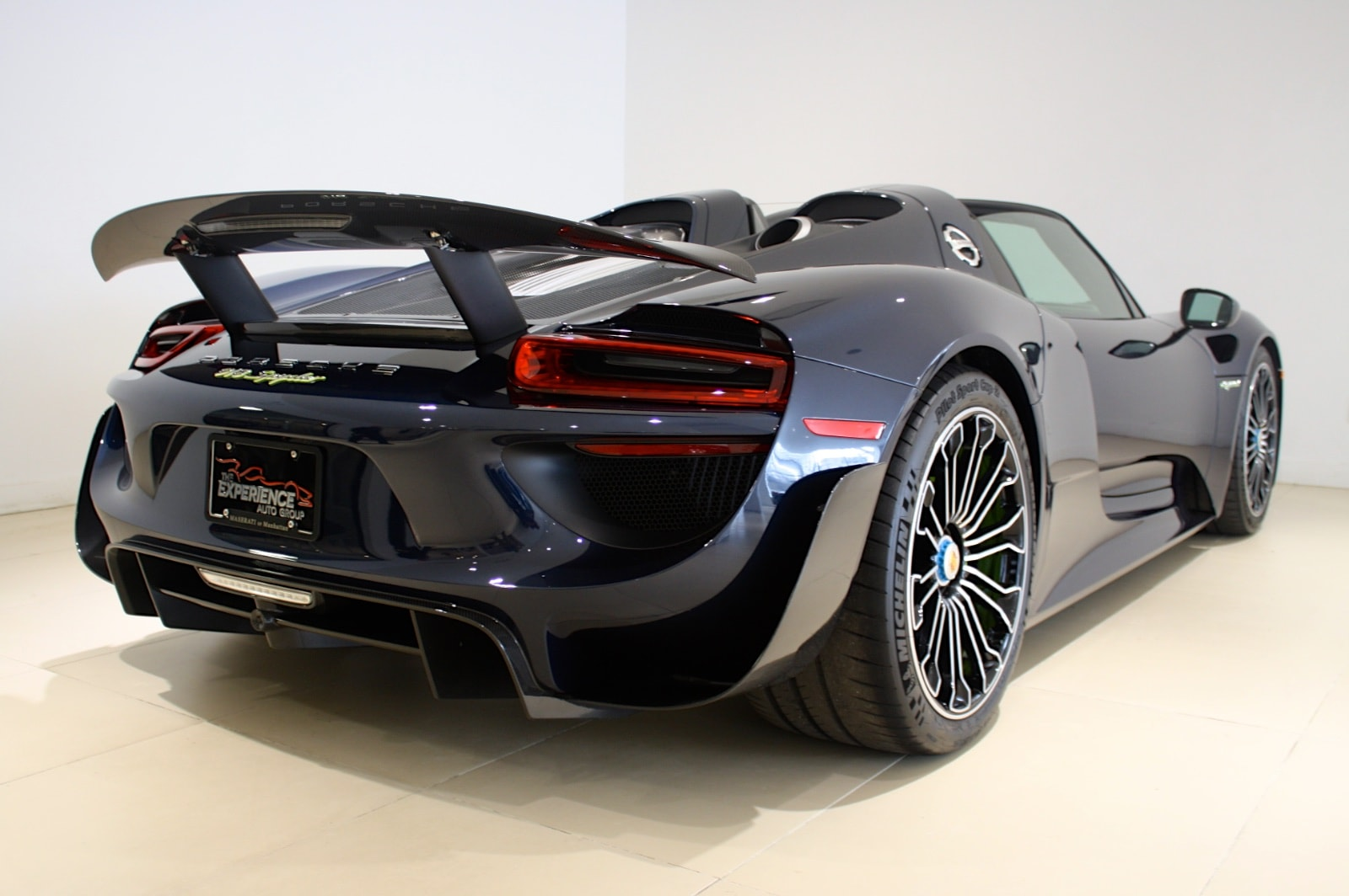 used 2015 porsche 918 spyder weissach package for sale. Black Bedroom Furniture Sets. Home Design Ideas