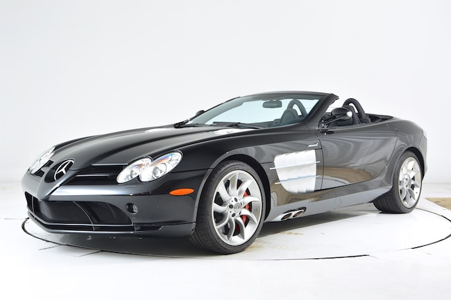 2008 MERCEDES-BENZ SLR MCLAREN ROADSTER Convertible