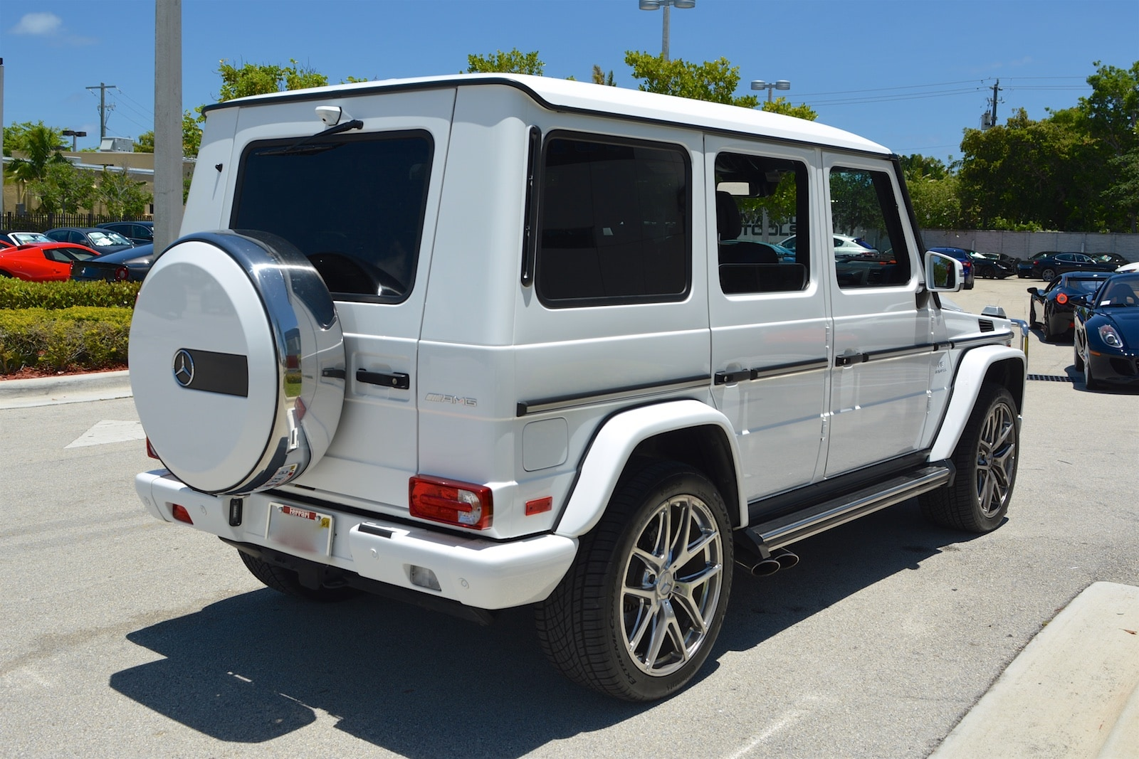 Used 2015 mercedes benz g63 amg for sale fort lauderdale fl for Used mercedes benz orlando fl