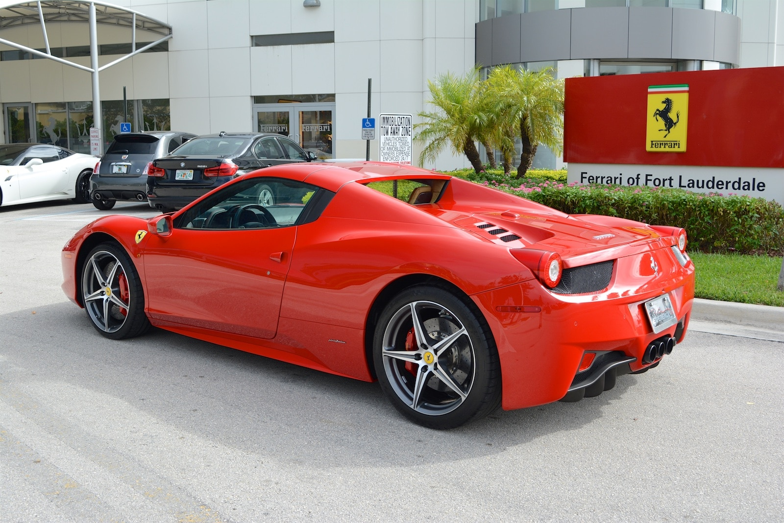 2013 ferrari 458 spider convertible for sale in fort lauderdale fl at. Cars Review. Best American Auto & Cars Review