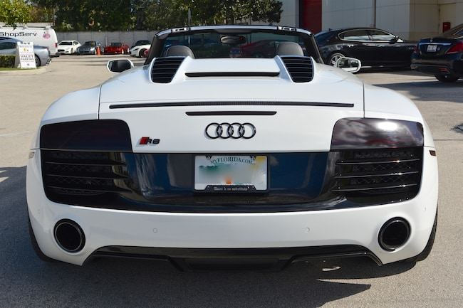 Used AUDI R V For Sale In Fort Lauderdale Maserati Of Fort - Audi r8 convertible
