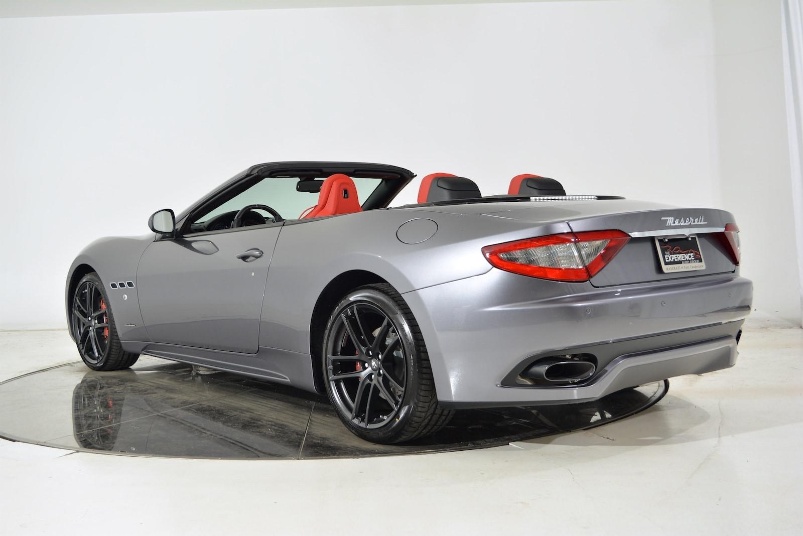 New 2017 Maserati Gt Convertible Sport Fort Lauderdale Fl Vin Zam45vma7h0215594