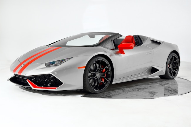 Used 2017 Lamborghini Huracan Lp 610 4 Spyder For Sale In Fort
