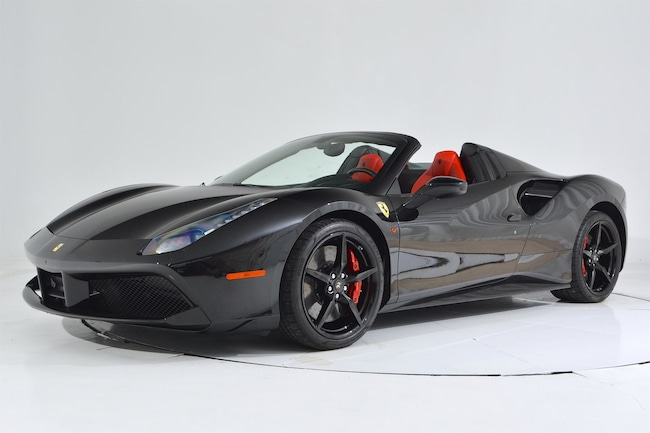 2016 FERRARI 488 SPIDER Convertible for sale in Fort Lauderdale, FL at Ferrari of Fort Lauderdale