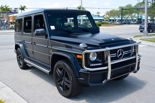 Used 2016 mercedes benz g63 amg for sale fort lauderdale fl for Mercedes benz of fort lauderdale pre owned
