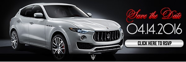 launch and unveiling of the 2017 Maserati Levante