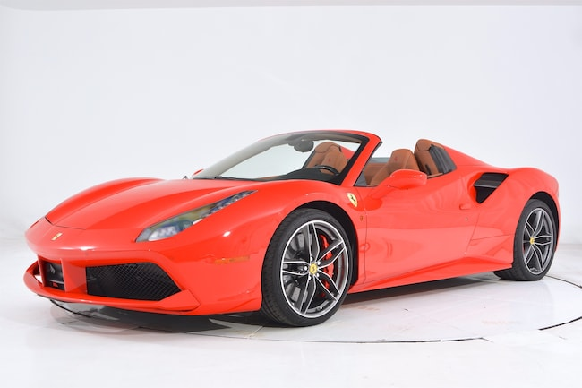 2018 FERRARI 488 SPIDER Convertible for sale in Fort Lauderdale, FL at Maserati of Fort Lauderdale