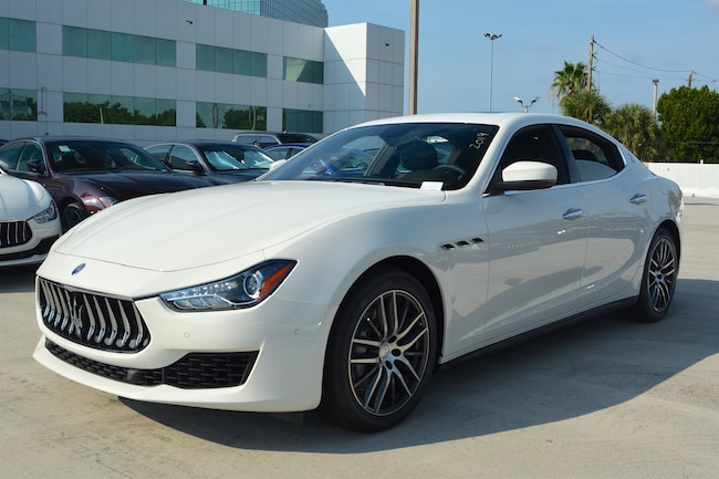 2019 MASERATI GHIBLI Sedan for sale in Fort Lauderdale, FL at Maserati of Fort Lauderdale