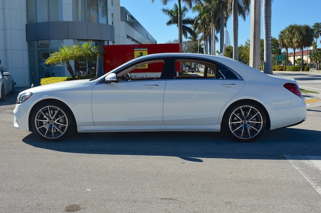 Used 2018 mercedes benz s class s 560 for sale ft for Mercedes benz of ft lauderdale fort lauderdale fl