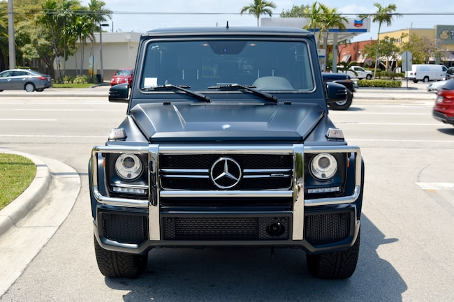 Used 2016 mercedes benz g63 amg for sale ft lauderdale fl for Mercedes benz of fort lauderdale staff